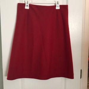 Jcrew A line skirt